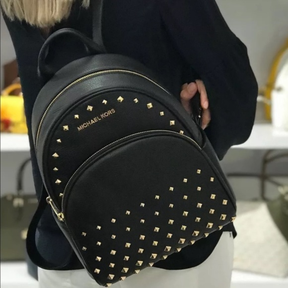 ae3b63dfcd0f Michael Kors Bags | Abbey Medium Studded Leather Backpack | Poshmark